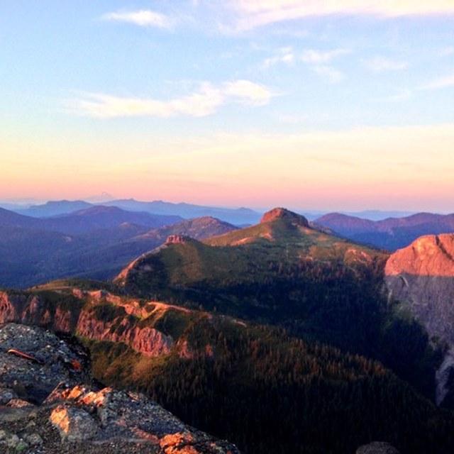 Sunrise from Sunrise Peak