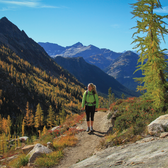 Tami Asars on the PCT