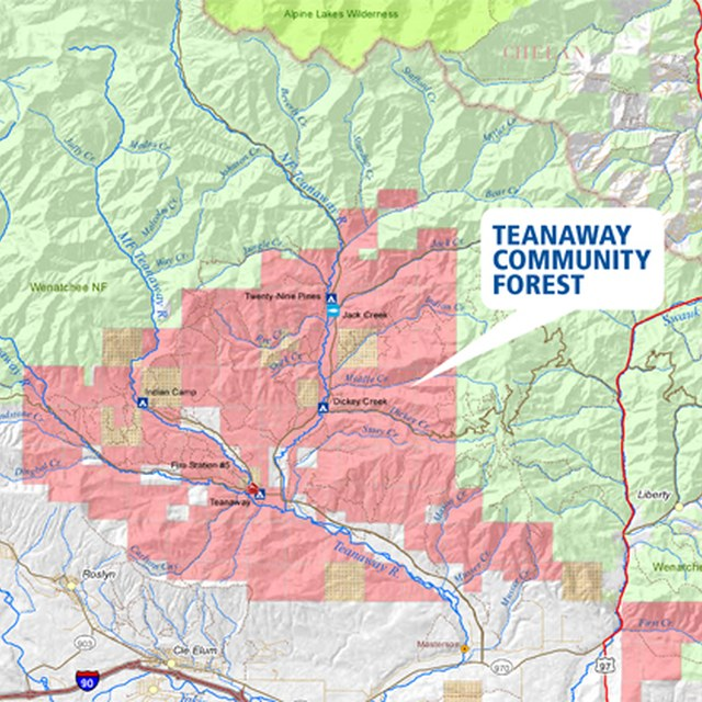 Teanaway Purchase Map