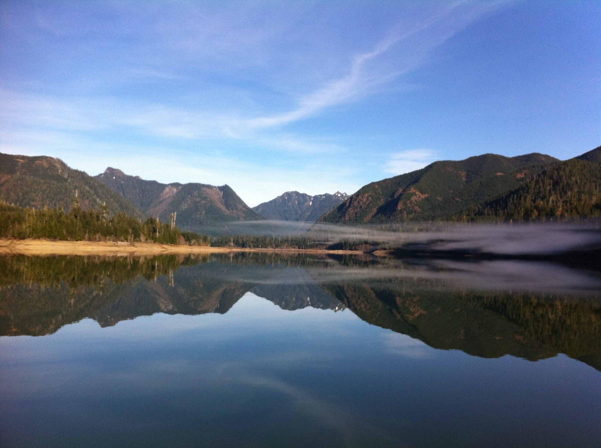 Smooth Wynoochee Lake