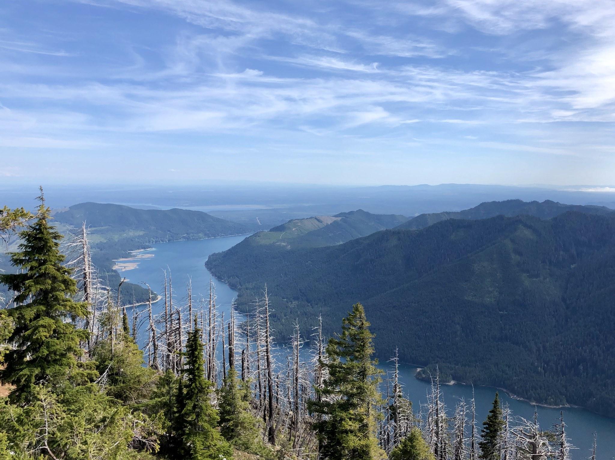 Mount Townsend approach