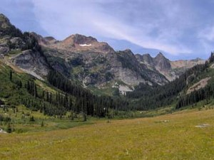 Red Mountain from Spider Meadow, Glacier Peak Wilderness