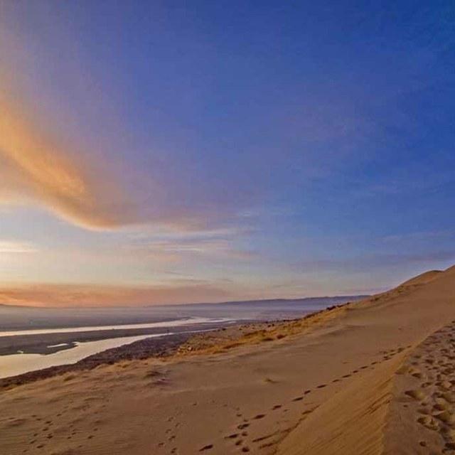White Bluffs Sunset