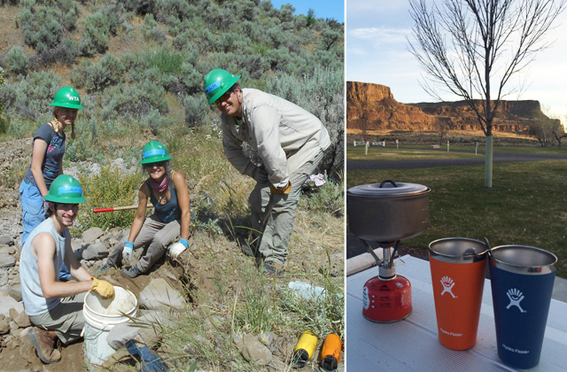 Volunteer and camp in Central Washington