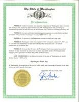 Washington Trails Day 2021 Governor's Proclamation