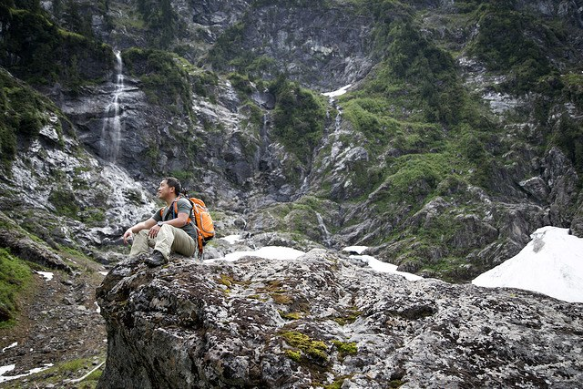 It's important to balance training with low-key hikes. Stop and enjoy your surroundings. Photo by Tuck Tongpattanakul.